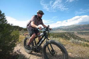 Pete on Boneyard Trail